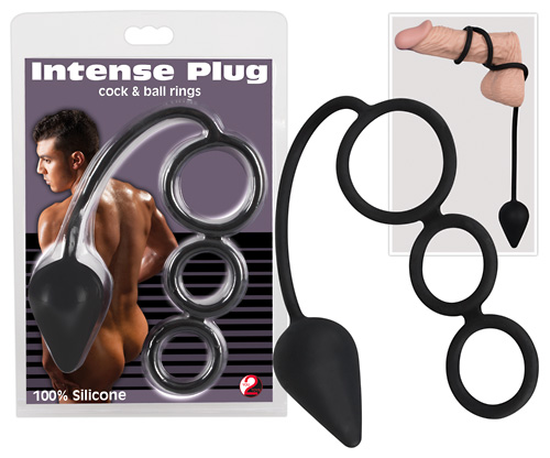 Intense Plug Cock & Ball Rings