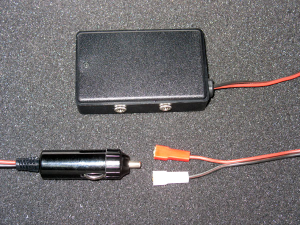 Power supply 12/9V, car lighte
