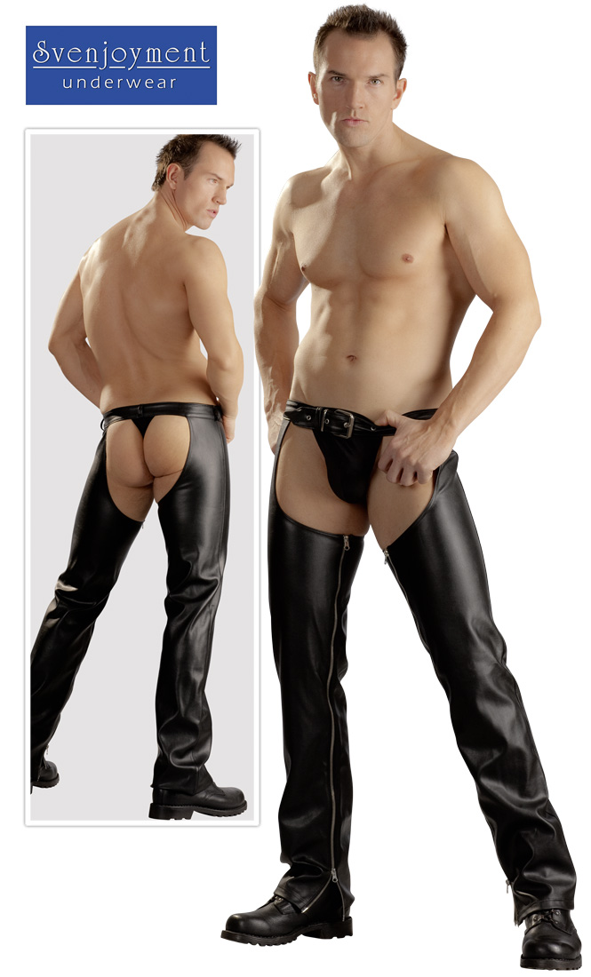 Chaps with thong