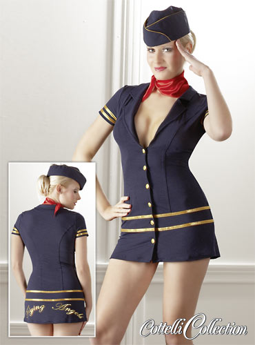 Stewardess Mini Dress