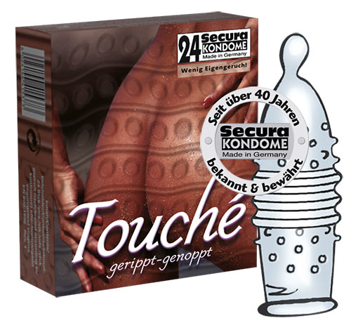 Touché Condoms, pack of 24